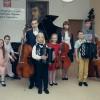Zdjęcie tegorocznych laureatów wraz z nauczycielami