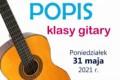 Popis klasy gitary, 31.05.2021 r.!