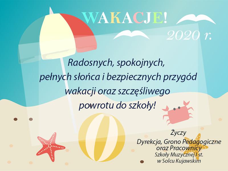 Życzenia na wakacje!